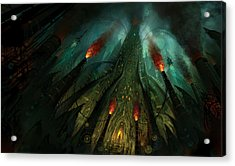 The Conjuring Acrylic Print by Philip Straub