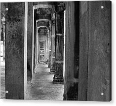 The Corridor Acrylic Print by Donna Caplinger