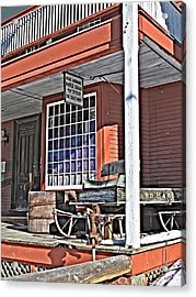 The Country Store Acrylic Print by Linda Pulvermacher