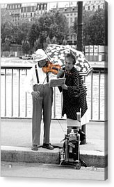 The Couple Acrylic Print by Kelly Jones