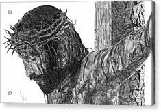 The Cross Acrylic Print by Bobby Shaw