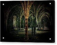 The Crypt Acrylic Print by Chris Lord