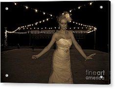 The Dancer Acrylic Print by Gib Martinez