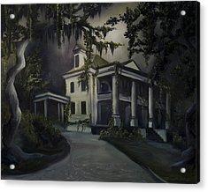The Dark Plantation Acrylic Print by James Christopher Hill