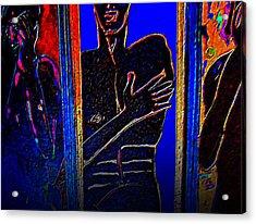 The Dark Side Acrylic Print by Randall Weidner
