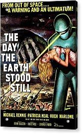 The Day The Earth Stood Still, 1951 Acrylic Print by Everett