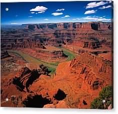 The Dead Horse Point State Park Acrylic Print by Daniel Chui