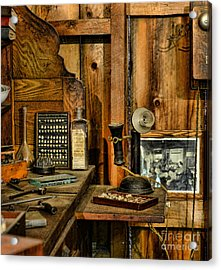 The Dentist Office Acrylic Print by Paul Ward