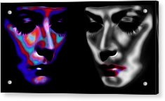 The Divine 3 Acrylic Print by Steve K