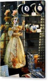 The Doll Salzburg Acrylic Print by Mary Machare