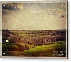 The Driftless Zone Acrylic Print by Mary Machare