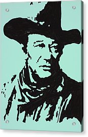 The Duke In Color Acrylic Print by Robert Margetts