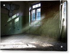 The Eagle Room. Acrylic Print by Nathan Wright