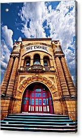 The Empire Theatre Acrylic Print by Meirion Matthias