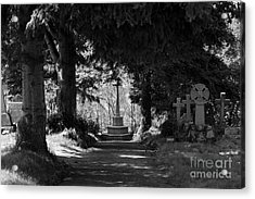 The End Acrylic Print by Brian Roscorla