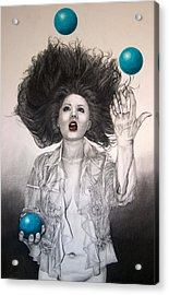 The Entertainer Acrylic Print by TP Dunn