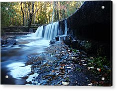 The Falls River Acrylic Print by Andrew Pacheco