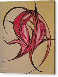 The Flip Acrylic Print by Tara Francoise