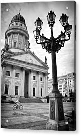 The French Cathedral In Berlin Acrylic Print by Ilker Goksen