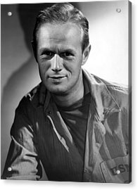 The Frogmen, Richard Widmark, 1951 Acrylic Print by Everett