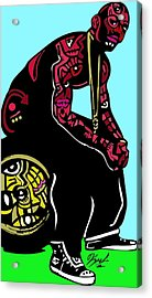 The Game Full Color Acrylic Print by Kamoni Khem