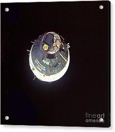 The Gemini 7 Spacecraft Acrylic Print by Stocktrek Images