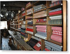 The General Store Acrylic Print by Daryl Macintyre