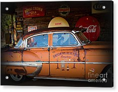 The Getaway Driver Acrylic Print by Benanne Stiens
