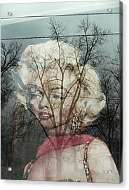The Ghost Of Norma Jean Acrylic Print by Todd Sherlock