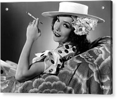 The Girl From Mexico, Lupe Velez, 1939 Acrylic Print by Everett