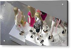 The Girls Acrylic Print by Lisa Plymell