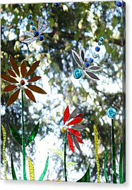 The Glass Garden Acrylic Print by Pat Purdy