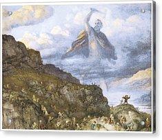 The God Thor And The Dwarves Acrylic Print by Richard Doyle