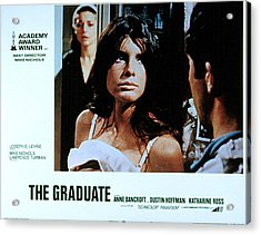 The Graduate, Anne Bancroft, Katharine Acrylic Print by Everett