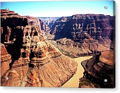 The Grand Canyon Acrylic Print by Photographed by Victoria Phipps ©