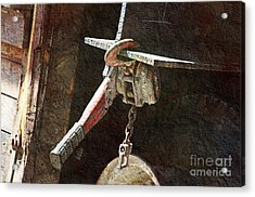 The Great Hoist Acrylic Print by Andee Design