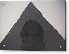 The Great Sphinx Is Framed Acrylic Print by Stephen St. John