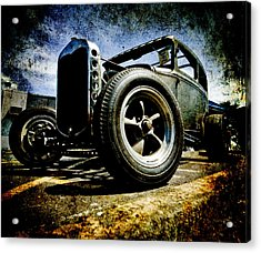 The Grunge Rod Acrylic Print by Phil 'motography' Clark