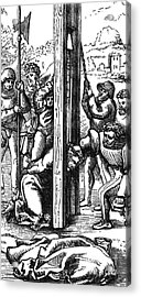 The Guillotine, 18th Century Acrylic Print by Science Source