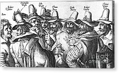The Gunpowder Rebellion, 1605 Acrylic Print by Photo Researchers