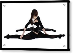 The Gymnast Acrylic Print by Pierre-jean Grouille