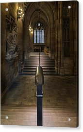 The Halls Acrylic Print by Dave Wood