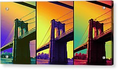 The Hardest Thing In Life To Learn Is Which Bridge To Cross  Acrylic Print by Jenn Bodro