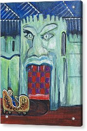 The Haunted Castle Acrylic Print by Patricia Arroyo
