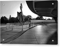 The Hirshhorn Museum II Acrylic Print by Steven Ainsworth