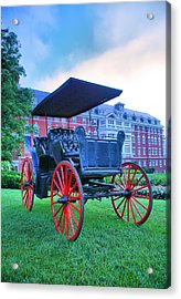 The Homestead Carriage II Acrylic Print by Steven Ainsworth