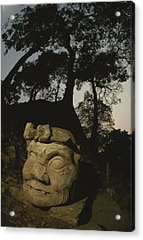 The Honduran Sun Setting Acrylic Print by Kenneth Garrett