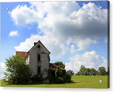The House On The Hill Acrylic Print by Karen Wiles