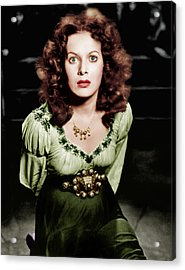 The Hunchback Of Notre Dame, Maureen Acrylic Print by Everett