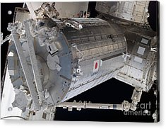 The Japanese Pressurized Module, The Acrylic Print by Stocktrek Images